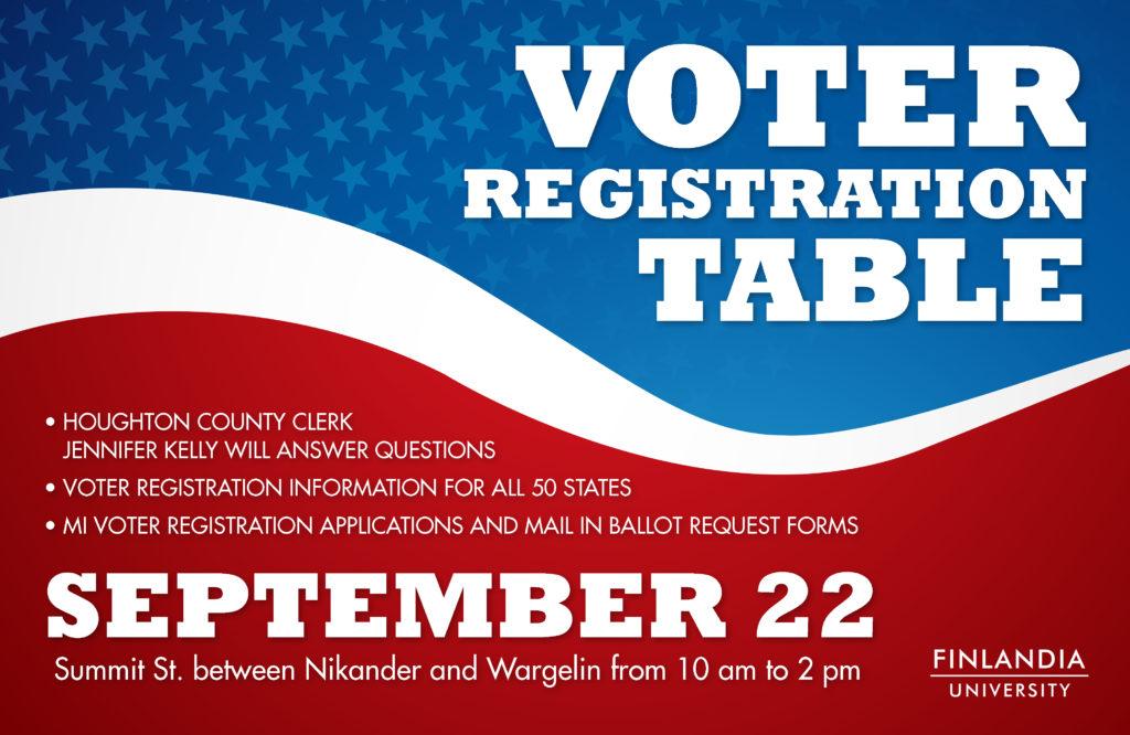voter registration day